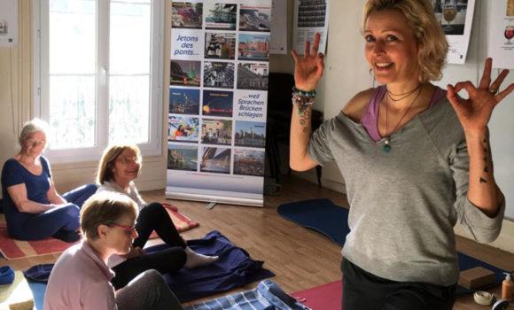 Les cours de yoga en allemand reprennent !