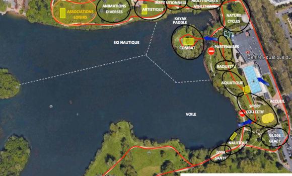 Dimanche 8 septembre : Forum des associations au lac de la Bergeonnerie à Tours