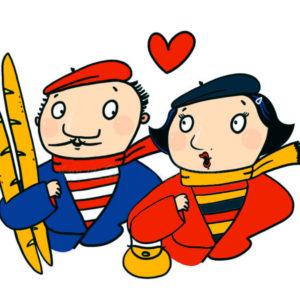 """Vendredi 14 février 2020 : Feierabend! Valentinstag: """" Deutsch-französische Paare: Wie haben Sie Ihre(n) PartnerIn kennengelernt? Was hat Sie in Ihrer deutsch-französischen Liebesbeziehung am meisten beeindruckt? """""""