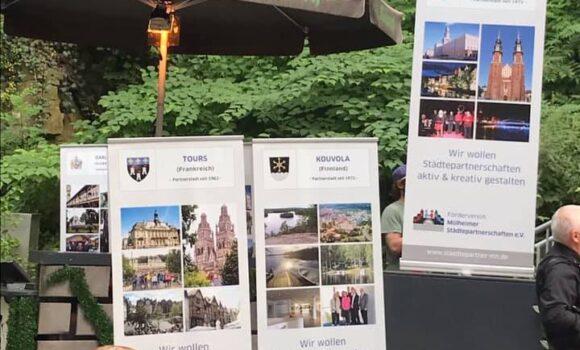 25ème anniversaire du comité de jumelage Förderverein Mülheimer Städtepartnerschaften